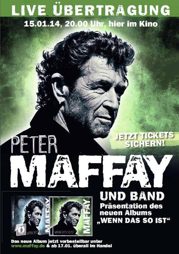 Kino-Konzert Maffay Plakat
