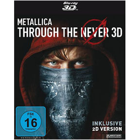 Metallica Through the Never - Blu-ray 3D - Cover