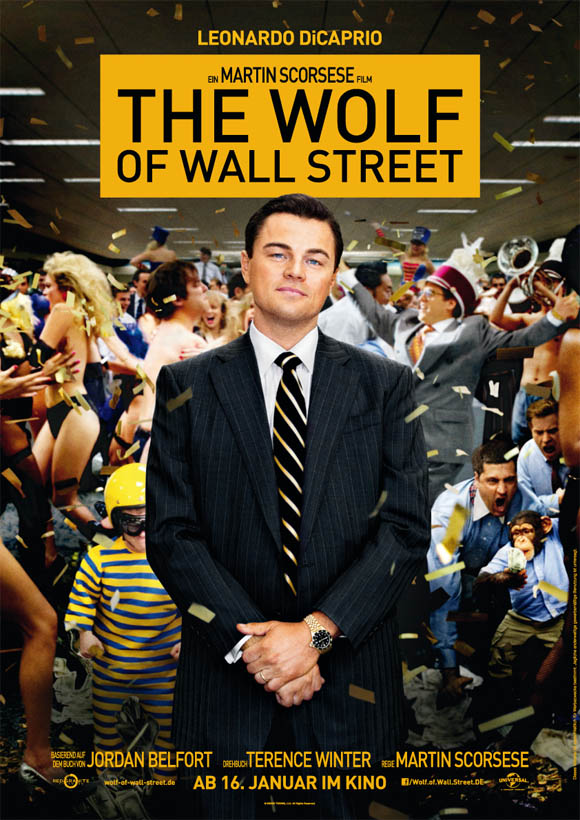 Wolf of Wall Street - Plakat