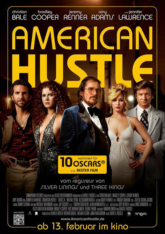 American Hustle -Plakat