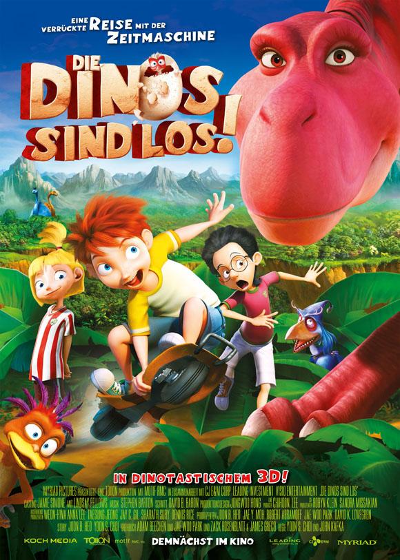 Die Dinos sind los- Poster