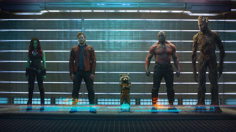 Guardians of the Galaxy- Szenenbild 1