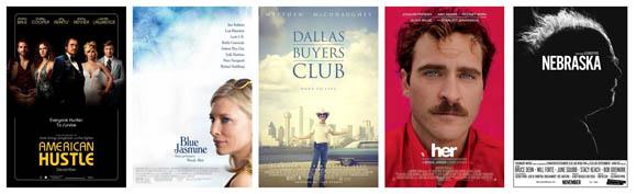 Oscars 2014 - Bestes Originaldrehbuch