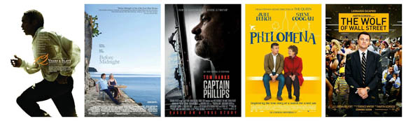 Oscars 2014 - Bestes adaptiertes Drehbuch