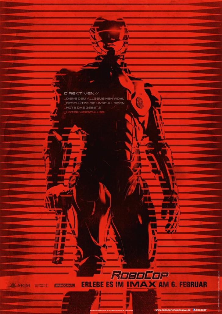 Robocop IMAX- Plakat