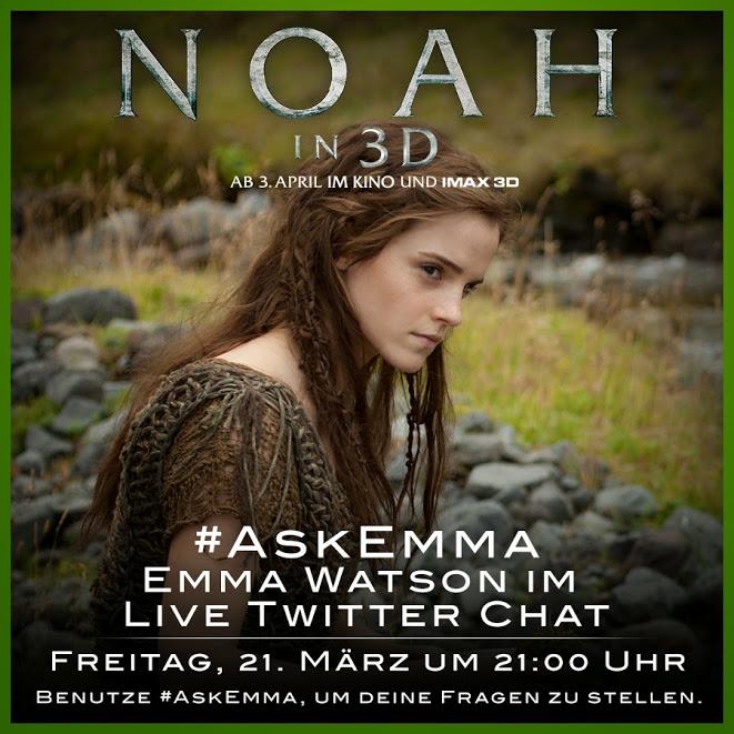 Emma Watson -Twitter QA -Noah 3D