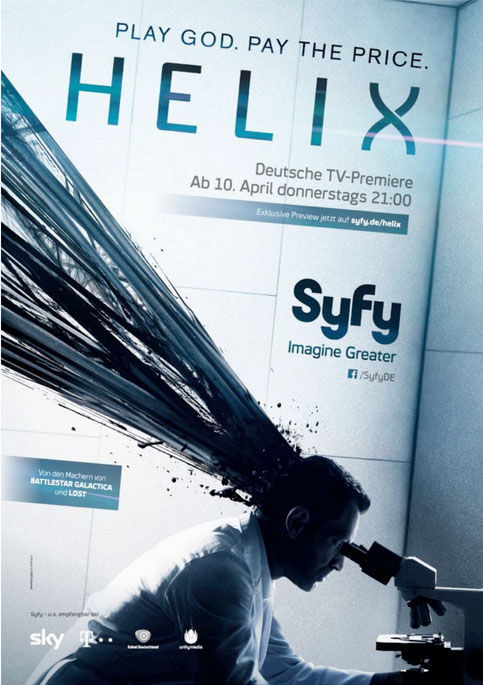 HELIX- SyFy Poster