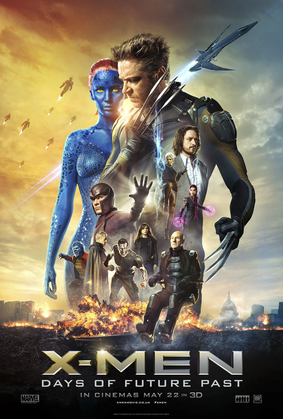 X-Men- Days of Future Past - Poster