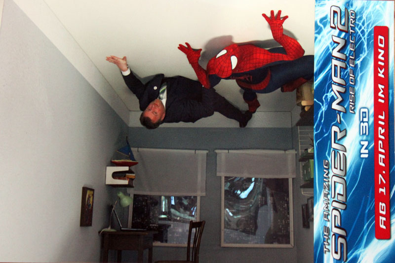 Promotion UpsideDown- The Amazing Spider-Man 2