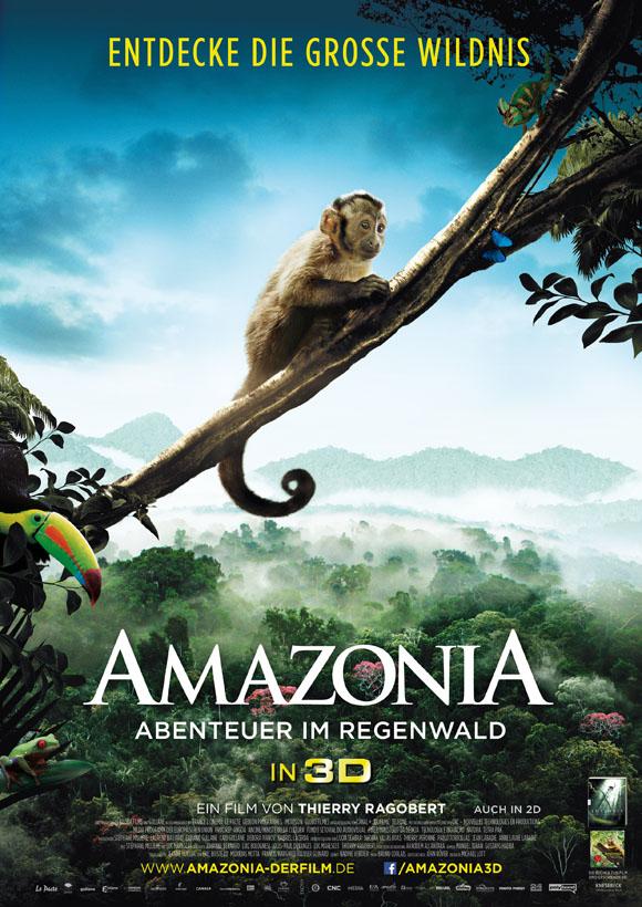 Amazonia 3D - Plakat