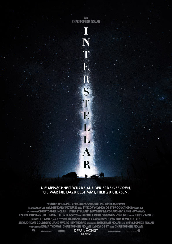 Interstellar -Teaserplakat
