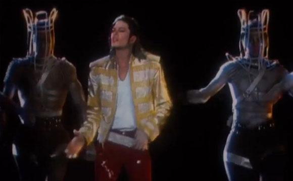 Michael Jackson Hologramm KOnzert