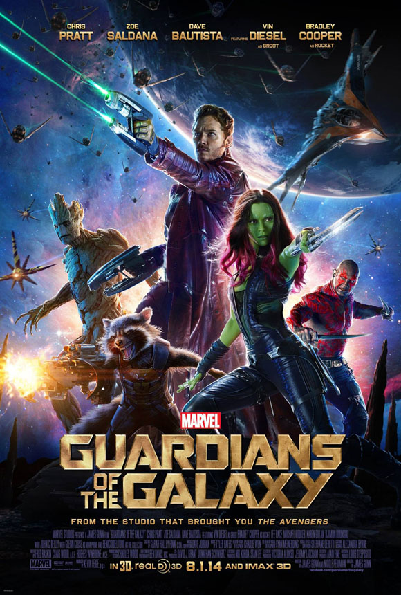 Plakat - Guardians of the Galaxy