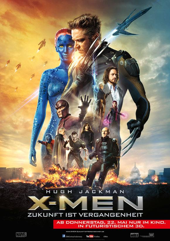 Plakat- X-Men Zukunft ist Vergangenheit