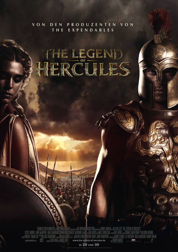 The Legend of Hercules - Plakat