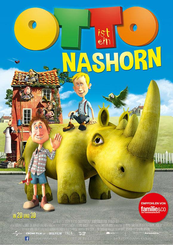 Filmplakat- Otto ist ein Nashorn
