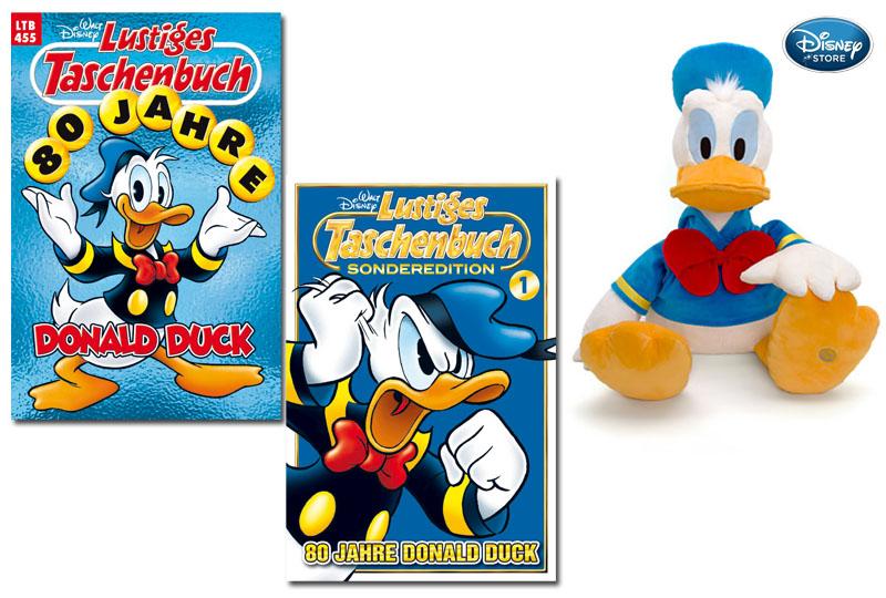 Gewinne 80 Jahre Donald Duck