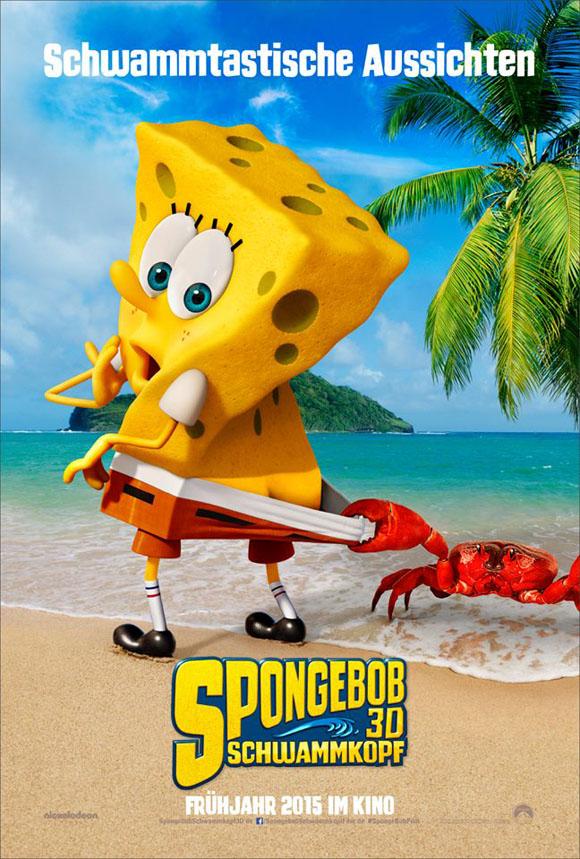 Spongebob Schwammkopf - deutsches Teaserplakat