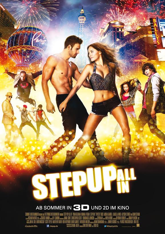 Step Up All In - Plakat