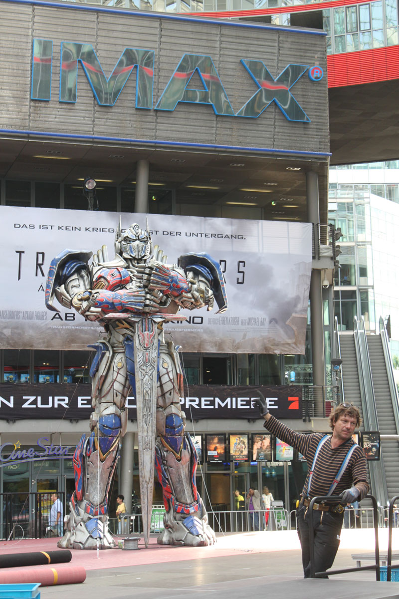 Transformers 4 Europapremiere - Szenenbild 12