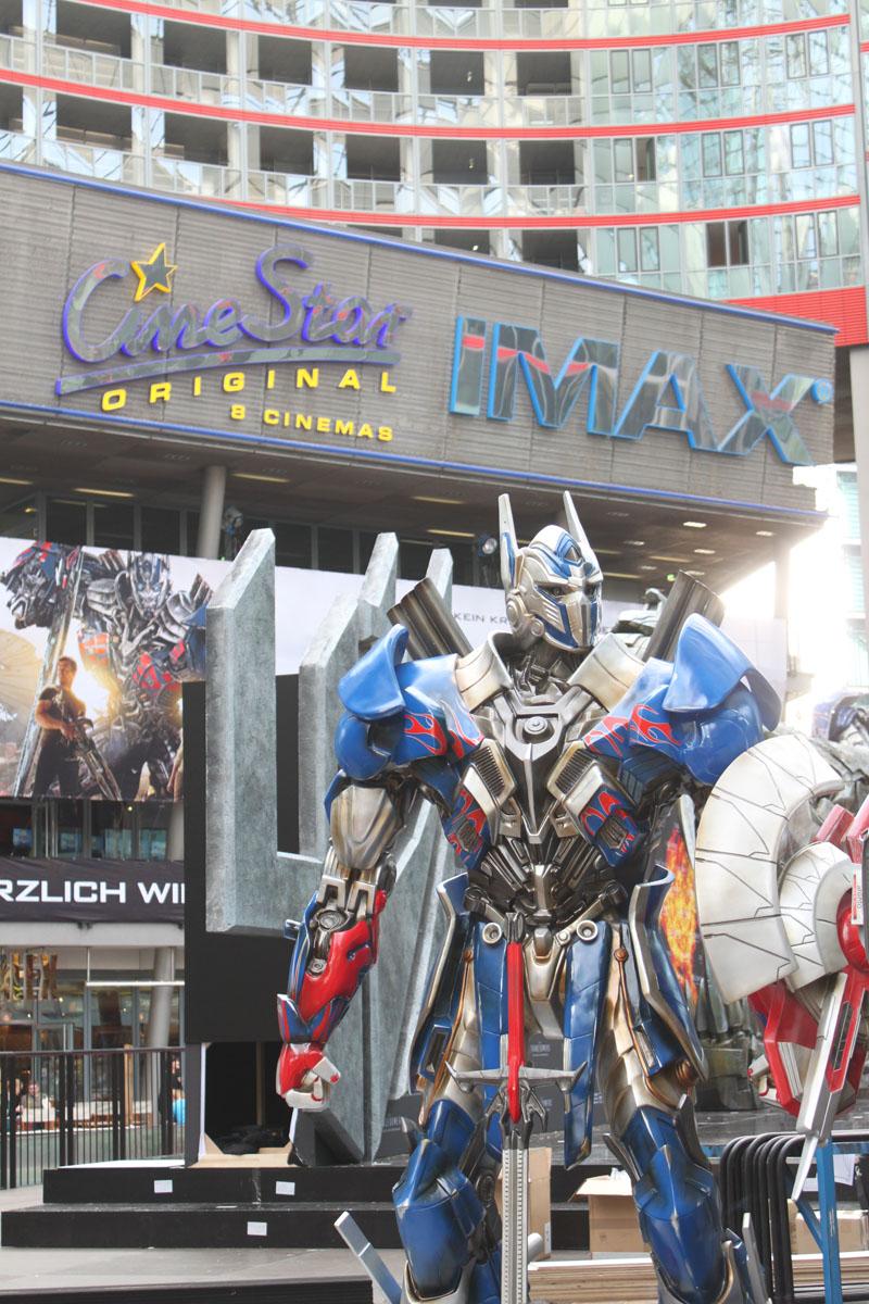 Transformers 4 Europapremiere - Szenenbild 21