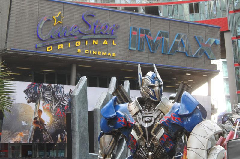 Transformers 4 Europapremiere - Szenenbild 22