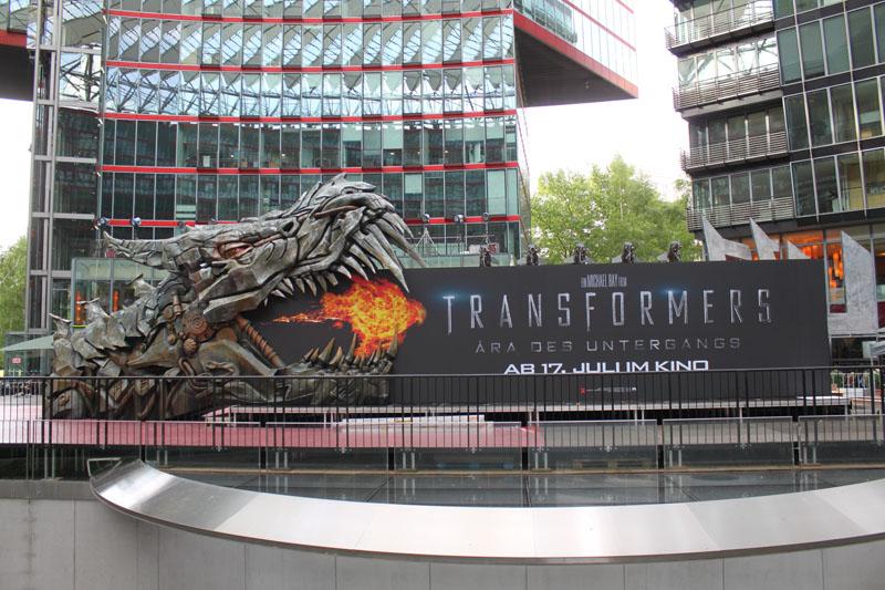 Transformers 4 Europapremiere - Szenenbild 25