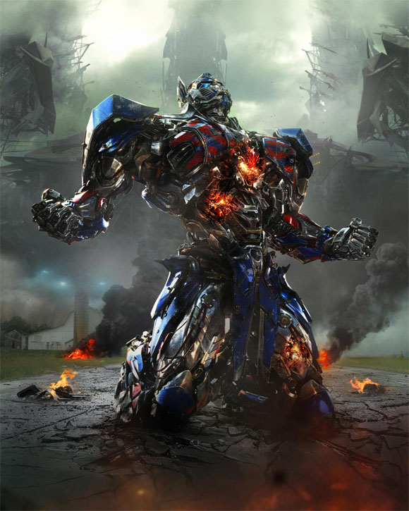 Transforners 4 - Optimus Prime - IMAX 3D 4K
